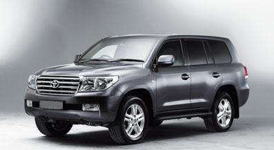 Toyota Land Cruiser armoured