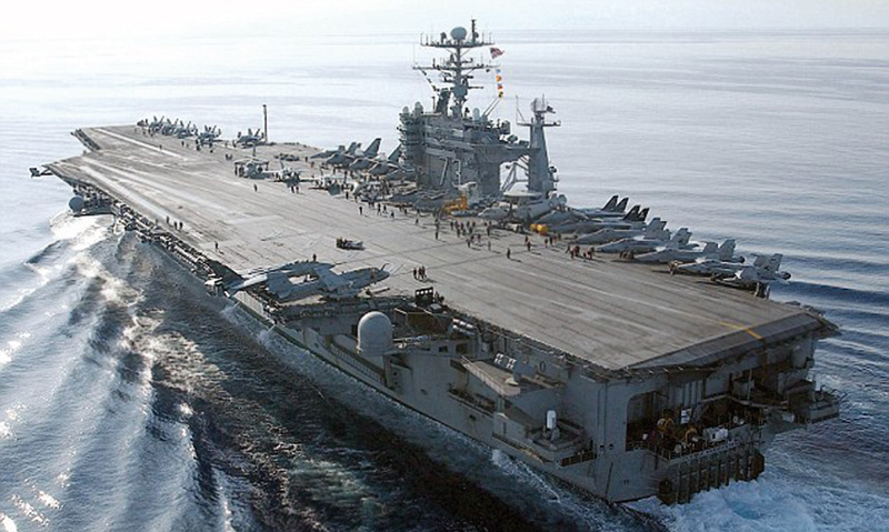Al Qaeda's India Branch tried to attack US Aircraft Carrier and attacked a Pakistani frigate instead_ copyright REUTERS_ 600 pix