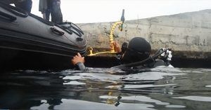 Underwater IED-D using Vulcan_600 pix